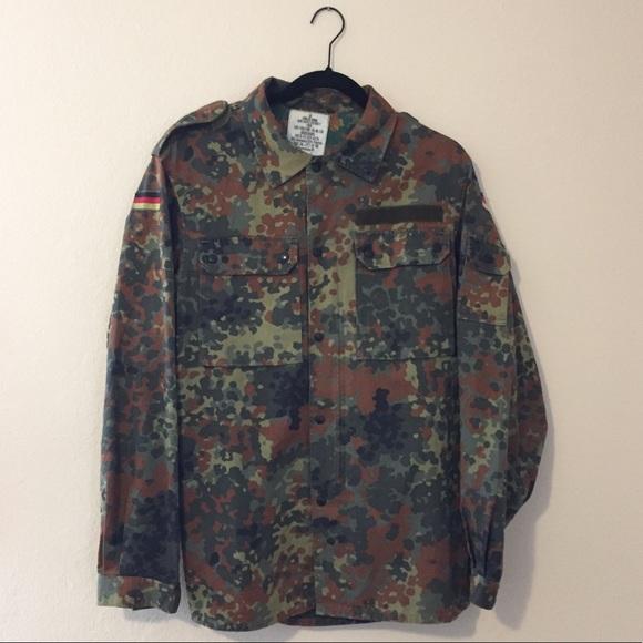Vintage GE Kohler GMBH German military jacket